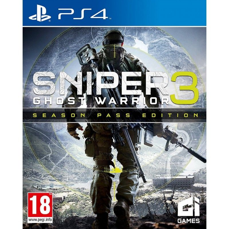 Игра Sniper Ghost Warrior 3 (PS4)