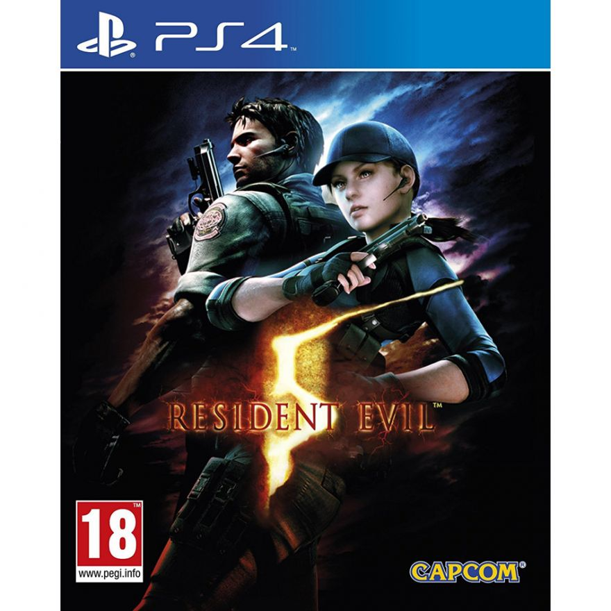 Игра Resident Evil 5 (PS4)