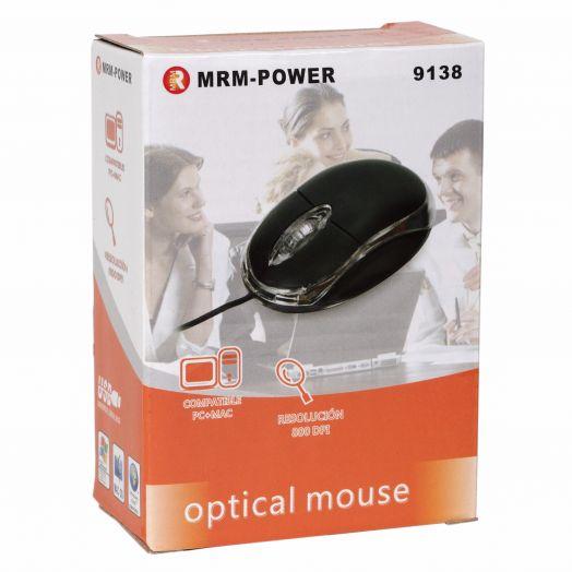 Мышь проводная MRM-9138 Y* (БЕЗ УПАКОВКИ)