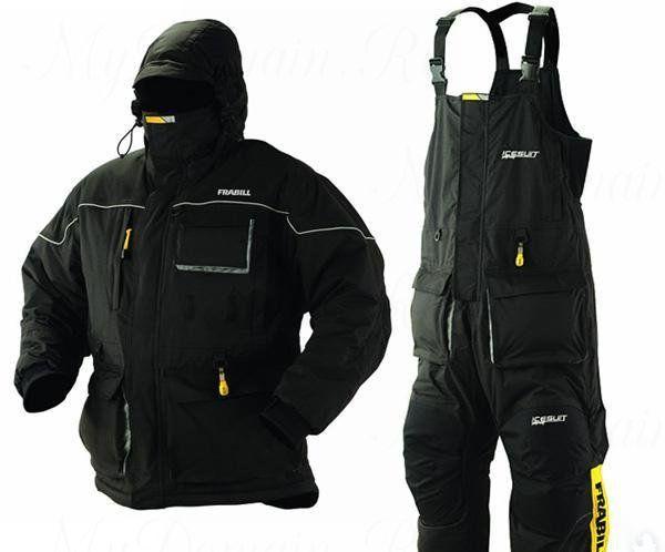 Костюм зимний Frabill IceSuit Jacket & Bib размер 2XL
