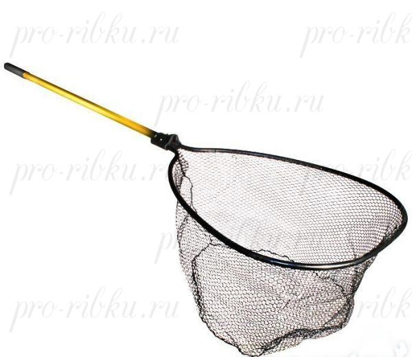 "FRABILL 3/8"" Tangle-Free Knotless Mesh Concervation Net 20''x23"" (meshgard), глубина 16"", рукоять 24-48"" Tele, ячейка 3/8"""