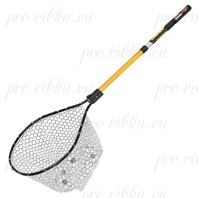 Подсак Frabill Conservation Series Net обруч 43х48х46 см; прозр. силикон 0.95х0.95 см; дл. до 1.22 м; трансп. дл. 61 см.