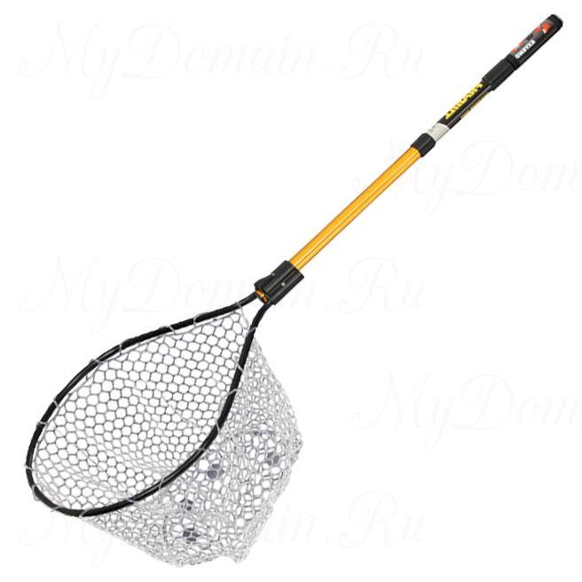 Подсак Frabill Conservation Series Net обруч 43х48х46 см; прозр. силикон 0.95х0.95 см; дл. до 1.22 м; трансп. дл. 61 см.