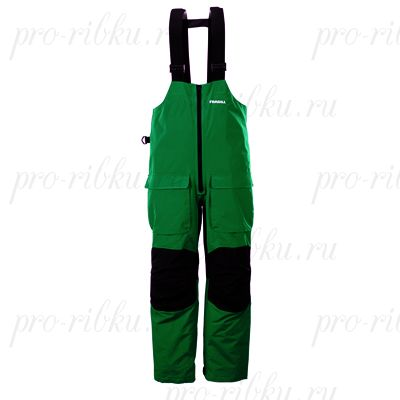 Полукомбинезон Frabill F2 Surge RainSuit Bib Green размер M