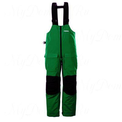 Полукомбинезон Frabill F2 Surge RainSuit Bib Green размер XL