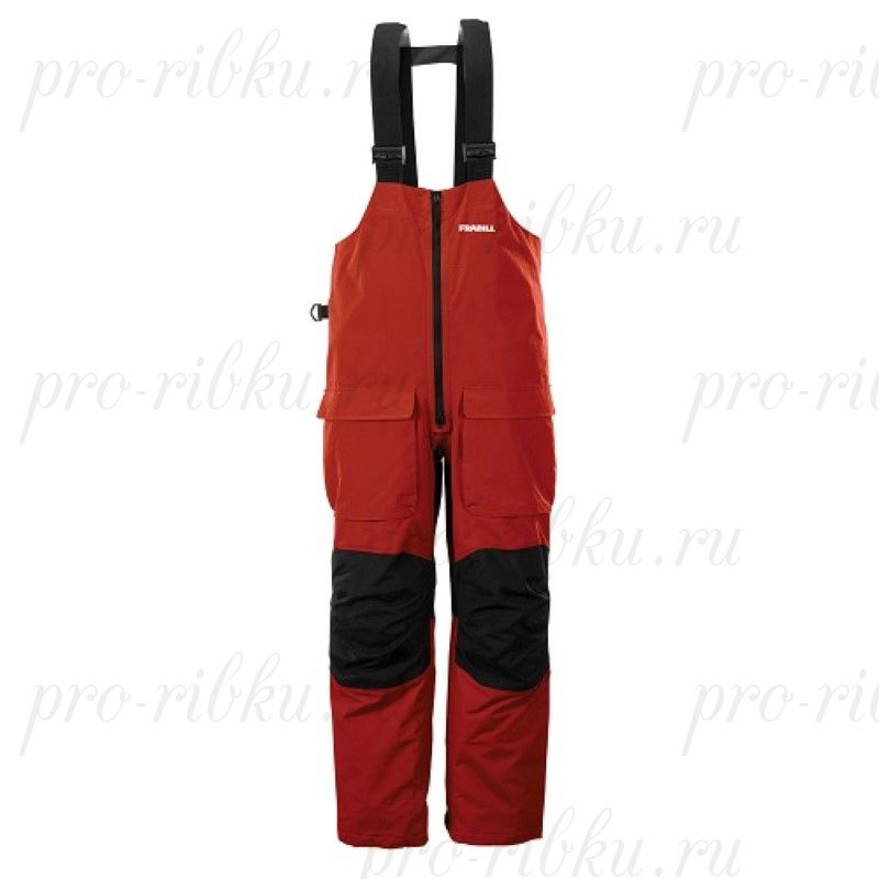 Полукомбинезон штормовой FRABILL F2 Surge Rainsuit Bib Red размер 3XL