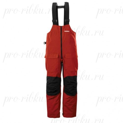 Полукомбинезон Frabill F2 Surge RainSuit Bib Red размер XL