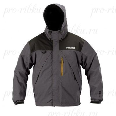 Куртка штормовая Frabill F2 Surge RainSuit Jacket Gray размер 2XL