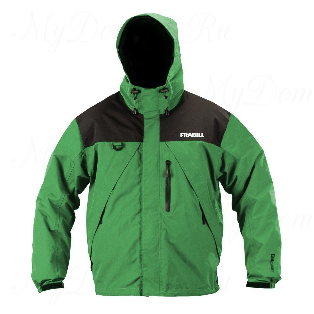Куртка штормовая Frabill F2 Surge RainSuit Jacket Green размер 3XL