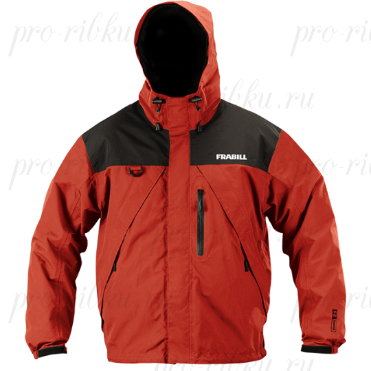 Куртка штормовая Frabill F2 Surge RainSuit Jacket Red размер XL