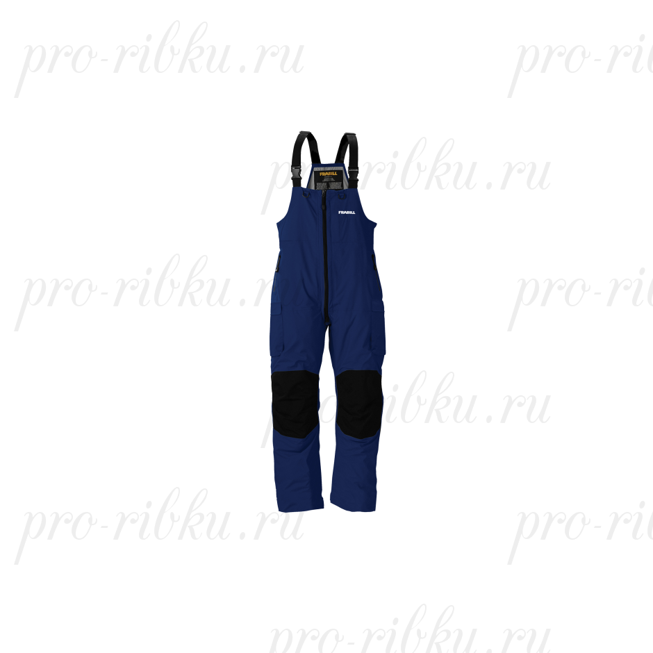 Полукомбинезон Frabill F3 Gale RainSuit Bib Navy Blue размер XL