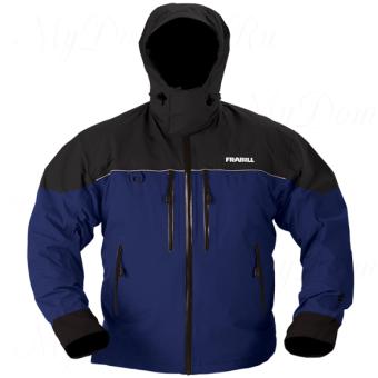 Куртка штормовая Frabill F3 Gale RainSuit Jacket Navy Blue размер M
