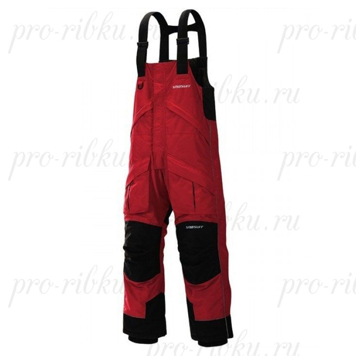 Полукомбинезон зимний Frabill FXE SnoSuit Bib Red размер 2XL, Red