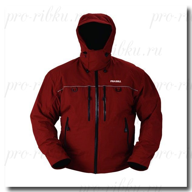 Куртка штормовая Frabill FXE Storm Suit Jacket Russet Red размер M