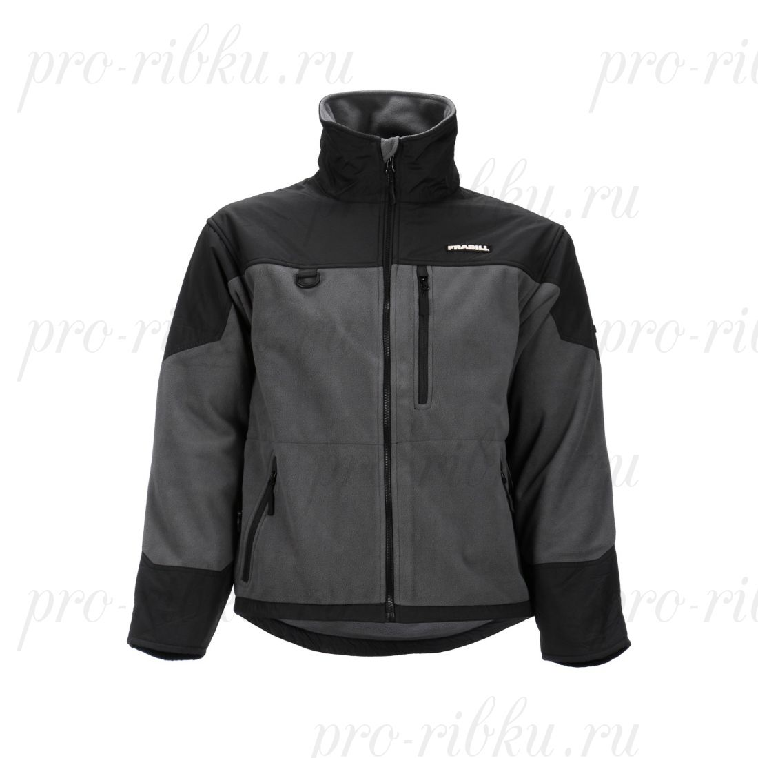 Куртка флисовая Frabill FXE WINDPROOF FLEECE Jacket размер 3XL