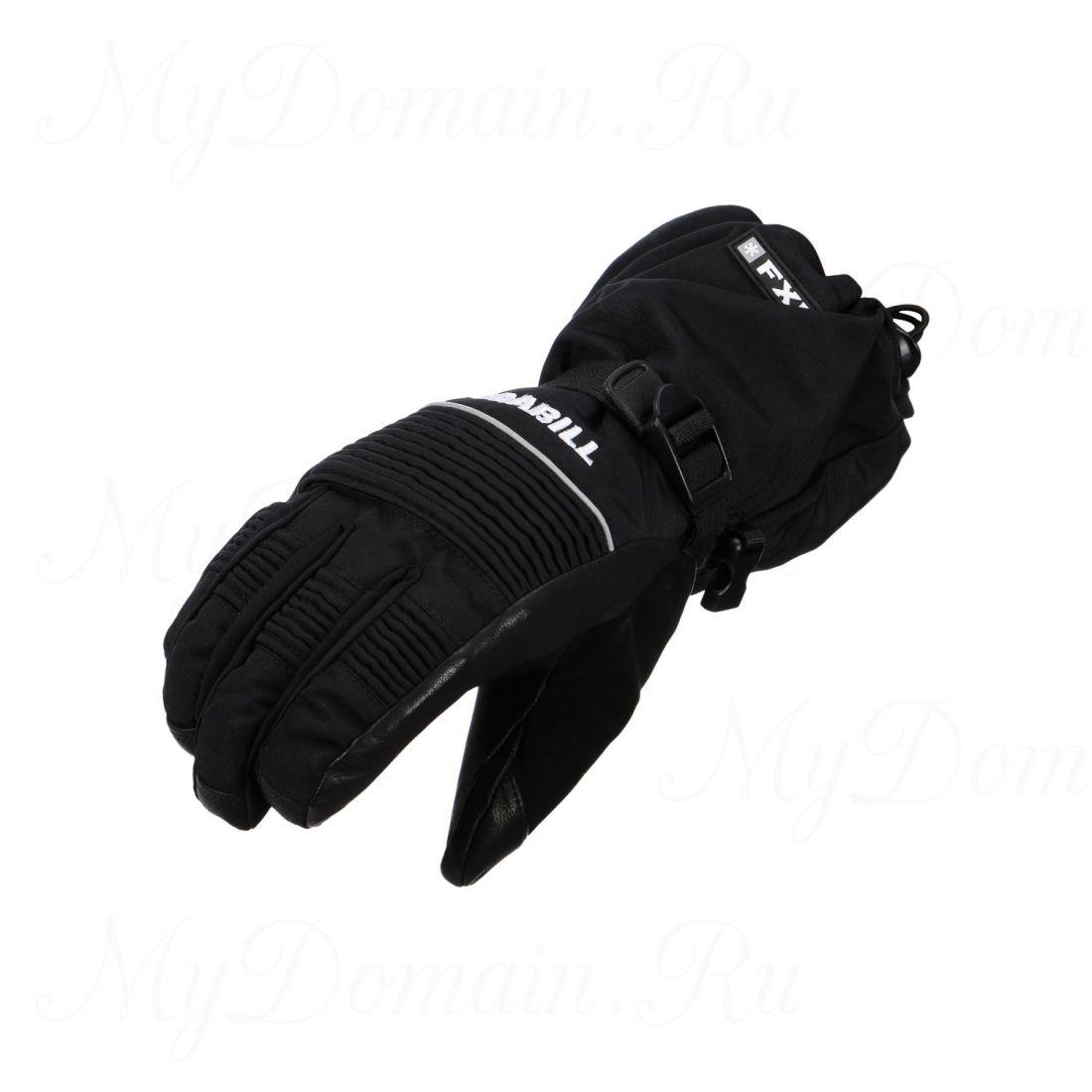 Перчатки Frabill FXE™ Gauntlet GLOVE водо/ветрозащитные дышащие кожа черные размер L