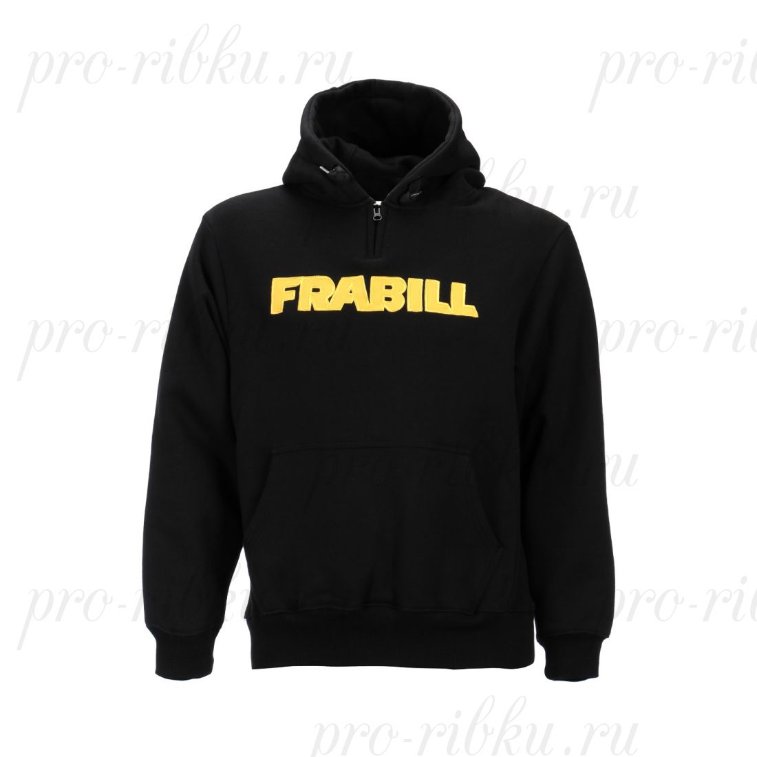 Кенгурушка Frabill Heavyweight Cotton Hooded Sweatshirt черная размер L