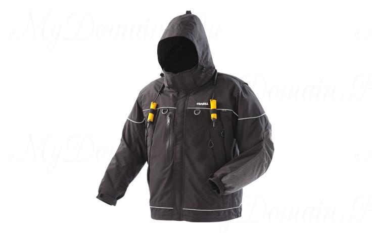 Куртка зимняя Frabill I-5 Jacket Black размер 3XL