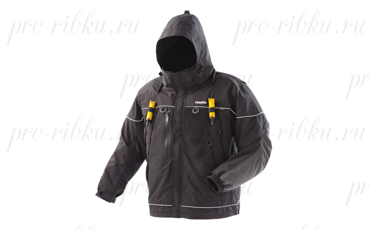 Куртка зимняя Frabill I-5 Jacket Black размер XL