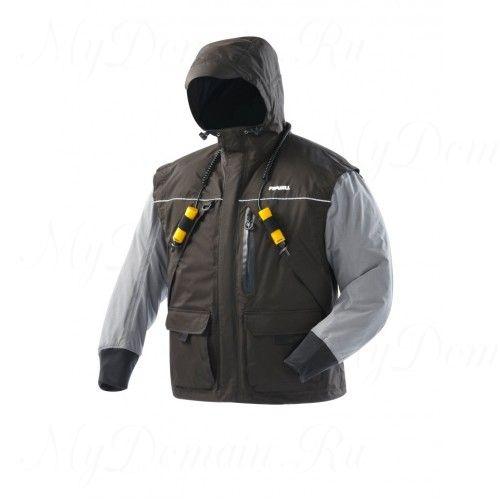 Куртка зимняя Frabill I2 Jacket Black размер 2XL