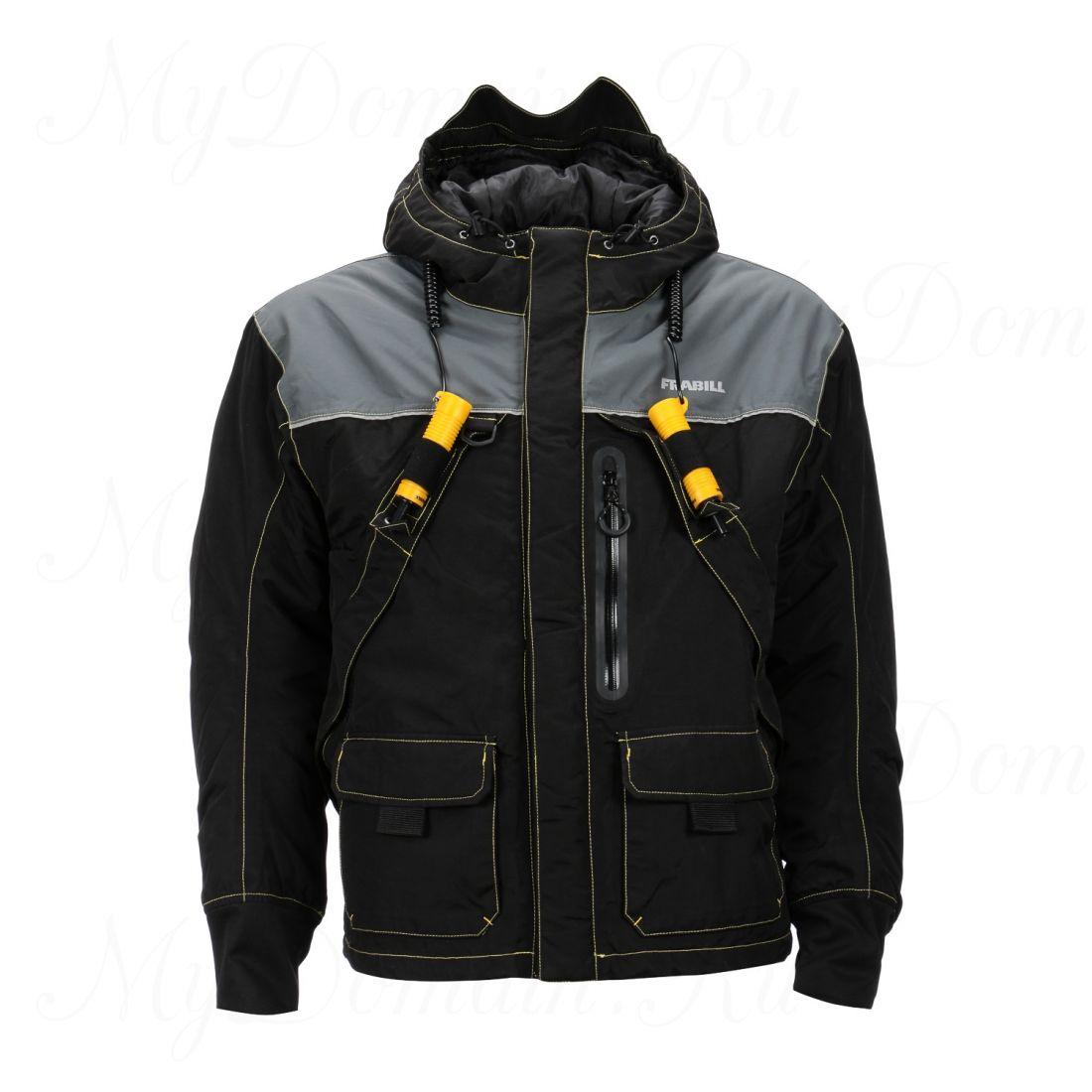 Куртка зимняя Frabill I3 Jacket, Black размер 2XL