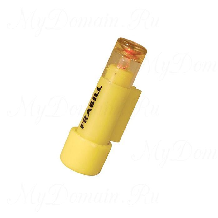 Светлячок жерличный Frabill LIL' Shiner Tip-Up light, желтый, самоактивирующийся, с батарейками