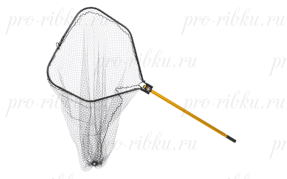 "Подсак Frabill Power Stow Net складной, обруч 30x32"", глуб. 50"", ячейка 1,5"", ручка 48-66"""