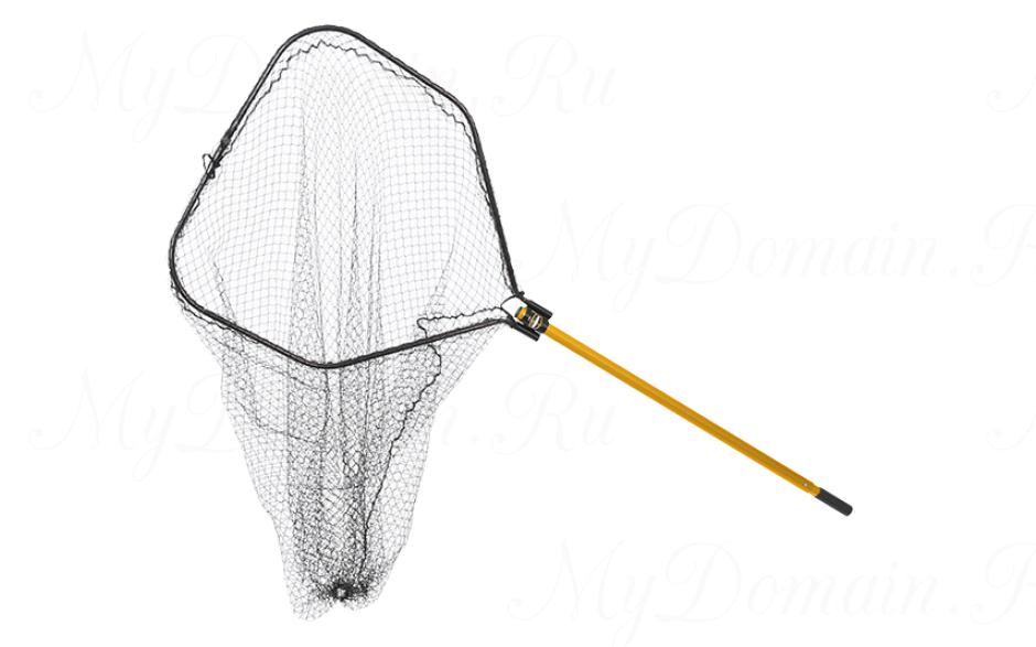 """Подсак Frabill Power Stow Net складной, обруч 36x38"""", глуб. 56"""", ячейка 1,5"""", ручка 48-66"""""""