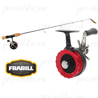 "Комплект (удочка+ катушка) Frabill Straight Line 261 Bro Series Combos L 30"", Finesse Walleye/Larger Panfish"