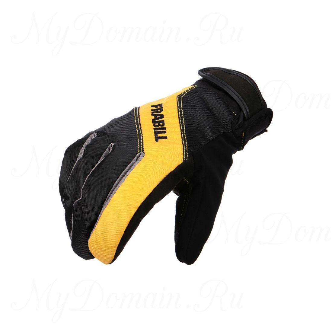 Перчатки Frabill Task Glove ALP водо/ветрозащитные дышащие черные размер L