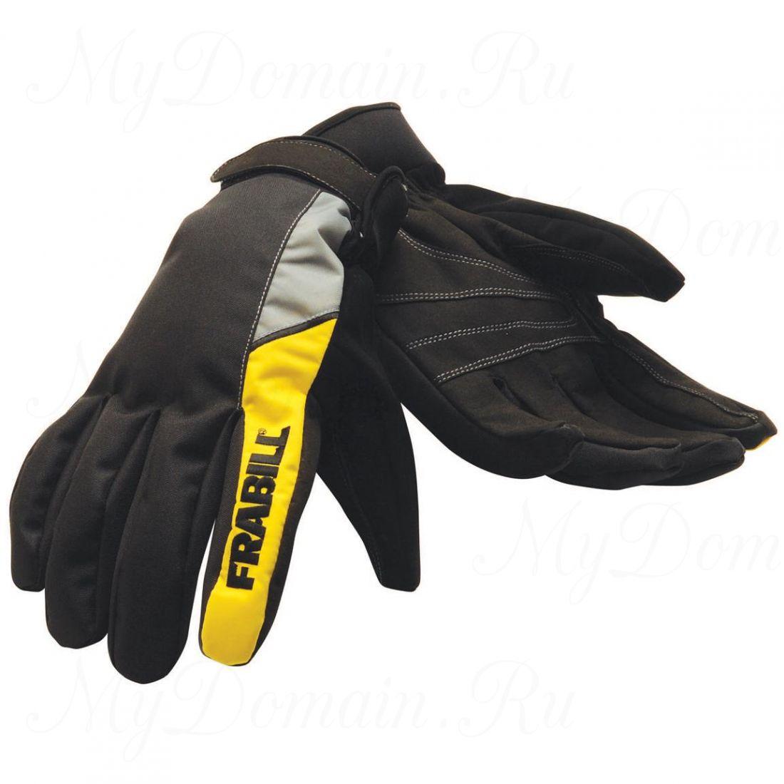 Перчатки FRABILL TASK GLOVE черные, водо/ветрозащитные, дышащие, размер 2XL