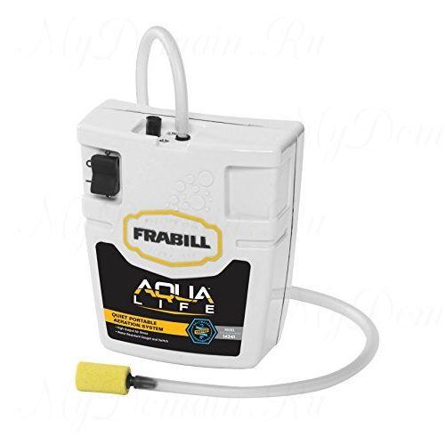 Портативный аэратор Frabill Portable Aerator, размеры 22х16.5х7.6 см, для емкостей до 10 Gal/38 л. (#14331)