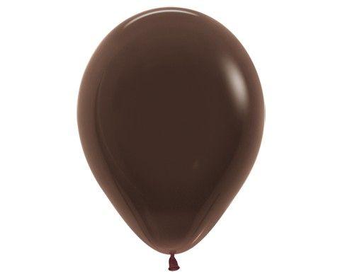 Гелиевый шар шоколадный