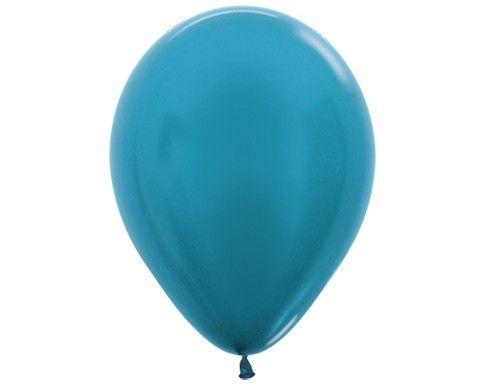 Карибский голубой гелиевый шар