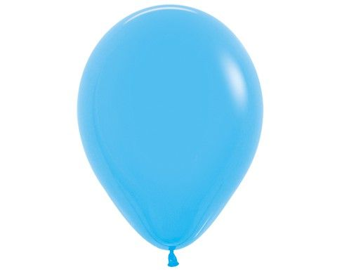Гелиевый шар светло синий
