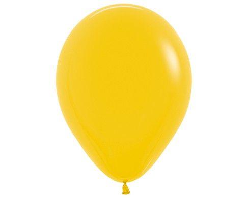 Гелиевый шар лимонный