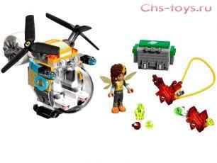 Конструктор Lari Супер Герои Girls Вертолет Бамблби 10614 (41234) 144 дет