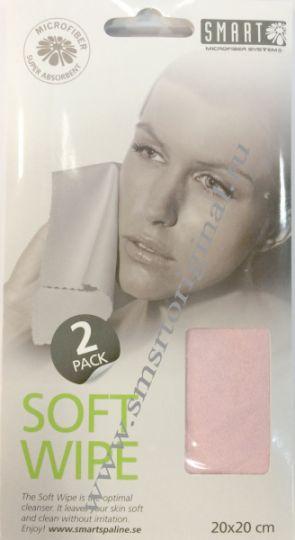 Smart Microfiber Салфетка для лица замша розовая 2 шт