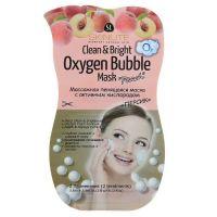 Skinlite маска массажная пенящаяся для лица Oxygen Bubble, 2 применения