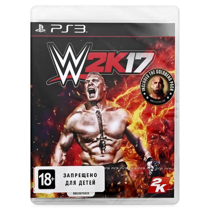 Игра WWE 2K17 (PS3)