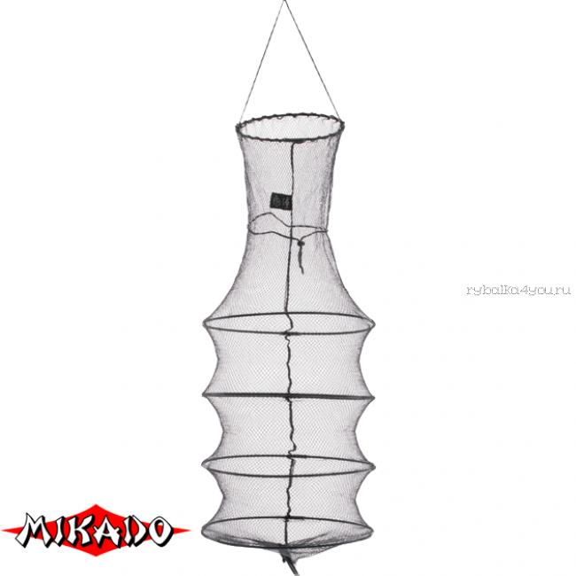 Садок рыболовный Mikado 40 / 100 см. нейлоновый