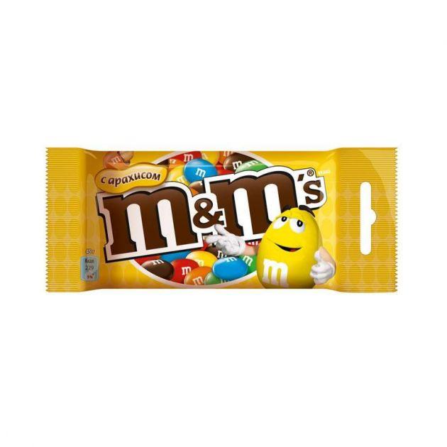 М&Мс с арахисом 45г