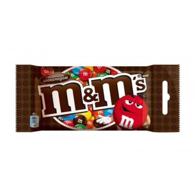 М&М шоколад 45г