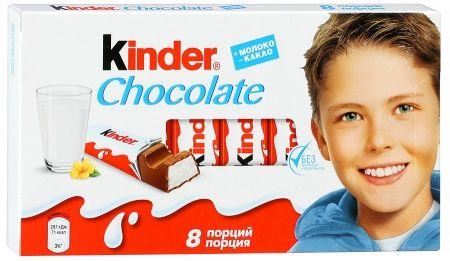 Киндер Шоколад 100г 4