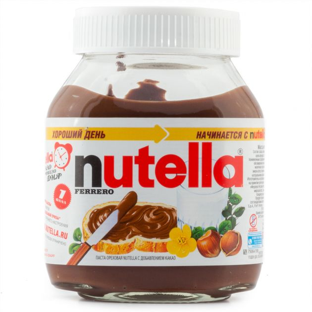 Нутелла шоколадная паста 180г