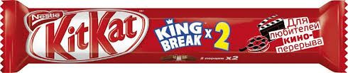 Кит Кат  King breakX2 шок. с вафельной нач. 58г