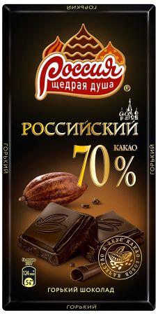 Российский шок. горький 70% 90г
