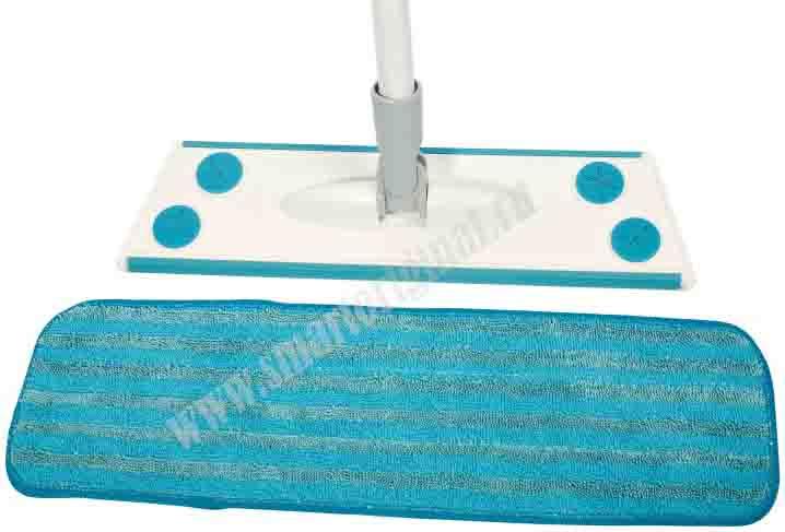 Smart Microfiber Набор № 5 Швабра бытовая 1 насадка влажная + Платформа для мытья окон с насадкой + Скребок универсальный