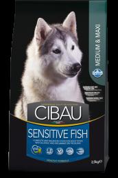 CIBAU SENSITIVE FISH MEDIUM & MAXI (Сибау сенситив медиум и макси с рыбой).