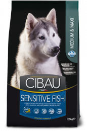 CIBAU SENSITIVE FISH MEDIUM & MAXI (Сибау сенситив медиум и макси с рыбой).